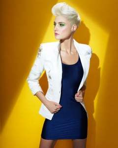 short-blonde-hair highlights