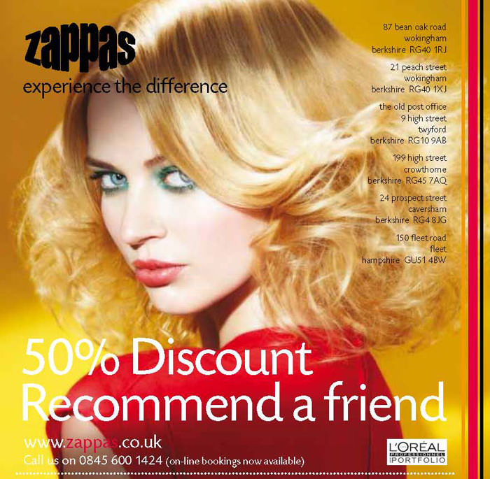 Half Price Hair Cuts Hair Salons Berkshire And Hampshire