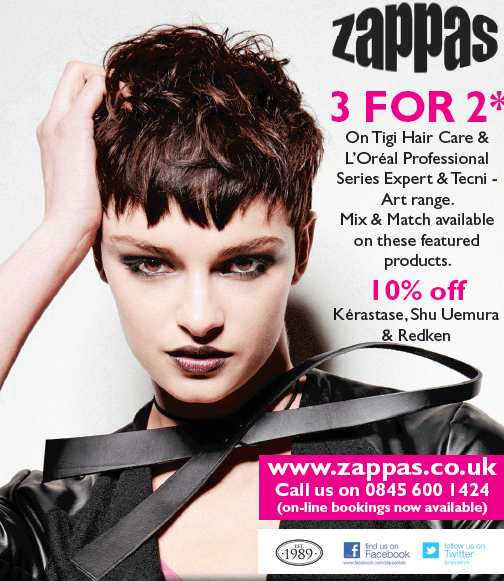 3 for the price of 2 on hair care & styling products