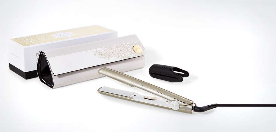 Arctic Gold Classic ghd V Styler Gift Set