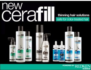 Cerafill thin hair solutions, Zappas hair salons Berkshire and Hampshire