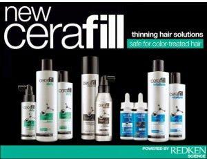 Cerafill thin hair solutions, Zappas hair salons Berkshire and Hampshire