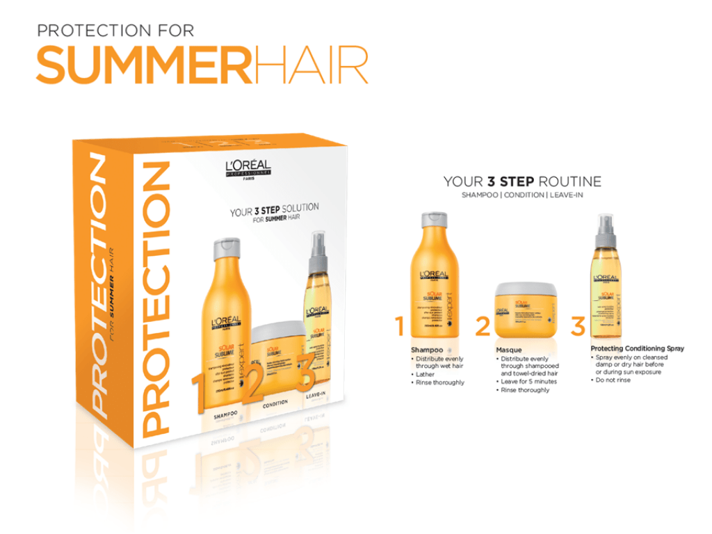 loreal summer hair set, zappas hair salons in berkshire and hampshire