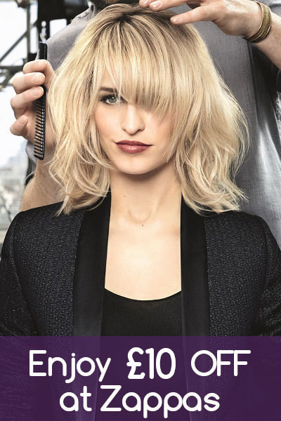Enjoy-£10-OFF-at-Zappas, hair salons