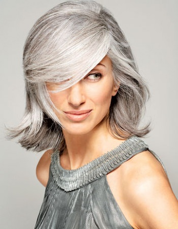 Hair Rose Gold & Silver Grey Hair Trends