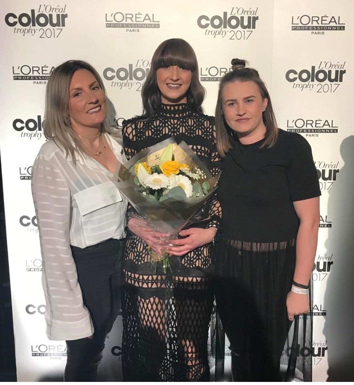 Zappas excel in the L'Oréal Colour Trophy Awards