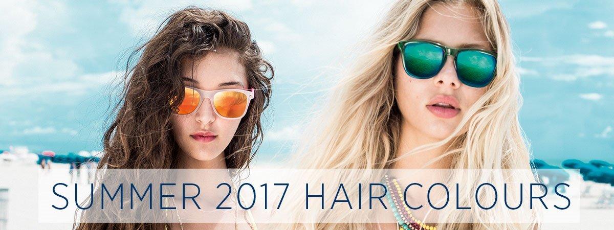 Fashion Hair Colours for Summer