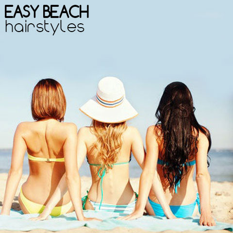Easy Beach Hairstyles