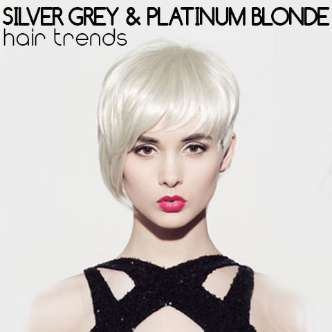 Silver Grey & Platinum Blonde Hair Trends