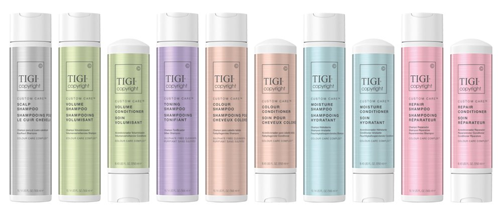 TIGI Copyright, Zappas Salons, Berkshire, Hampshire