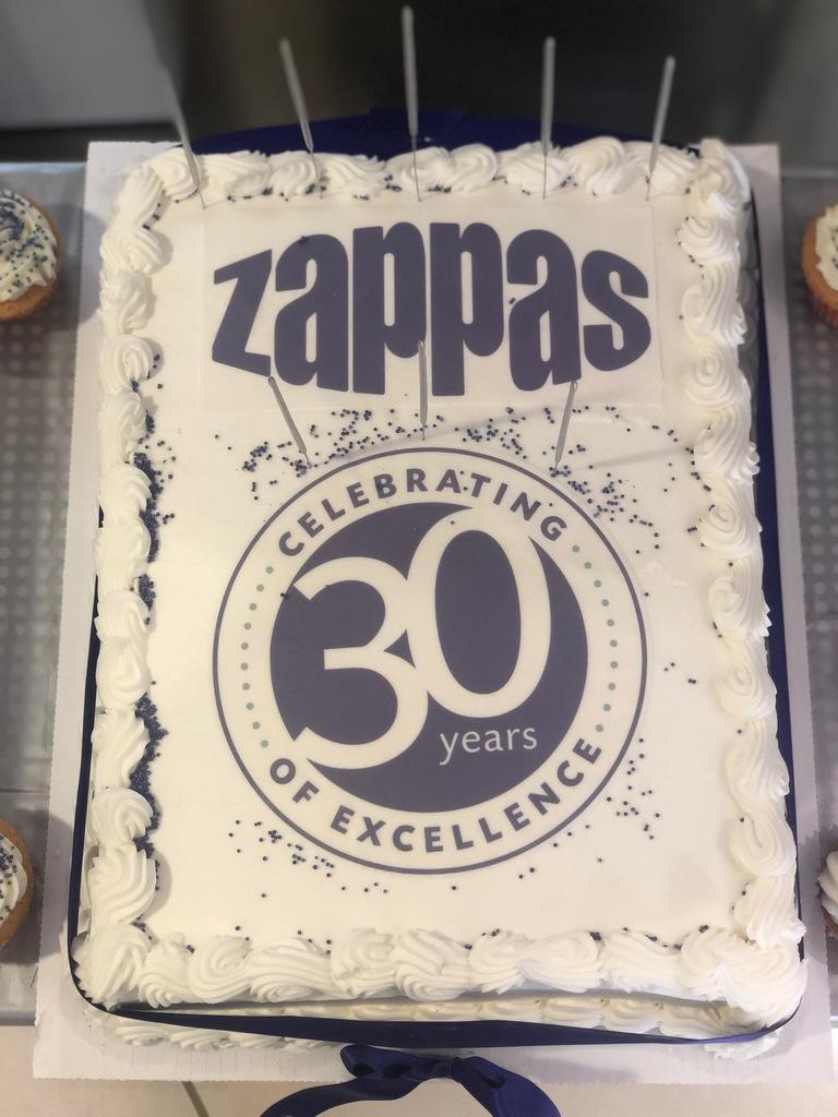Zappas 30th Birthday Celebrations