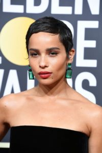 Zoe Kravitz, Hair Cuts & Styles, Zappas Hair Salons, Berkshire, Hampshire