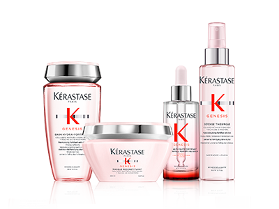 Kérastase Genesis, Reduce Hair Fall, Zappas Salons in Berkshire & Hampshire
