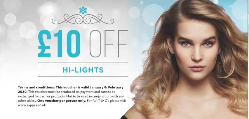 January & February Offers at Zappas