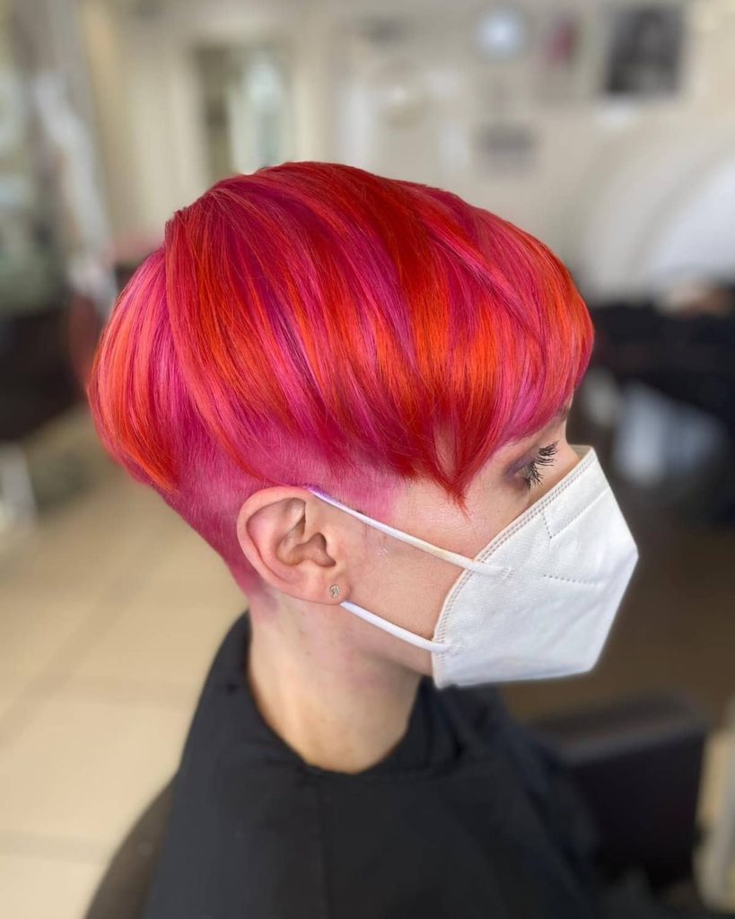 Vibrant Hair Colours Zappas Salons in Berkshire and Hampshire