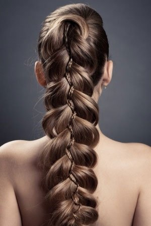 plaited prom hairstyles