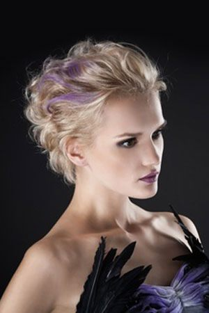 Romantic hairstyles @ Zappas