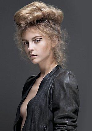 Romantic hairstyles @ Zappas
